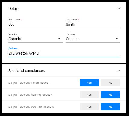 eState Planner Digital Questionnaire Image