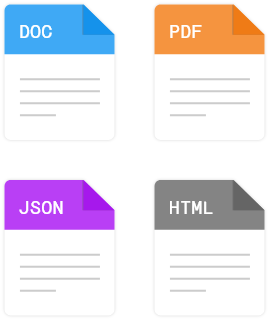 eState Planner Document Export Image
